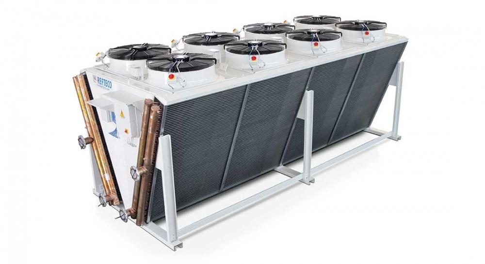 Liquid Dry Coolers : Rdvd dry cooler v type refteco