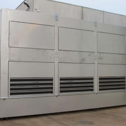 Nuovo aerorefrigeratore con raffreddamento adiabatico