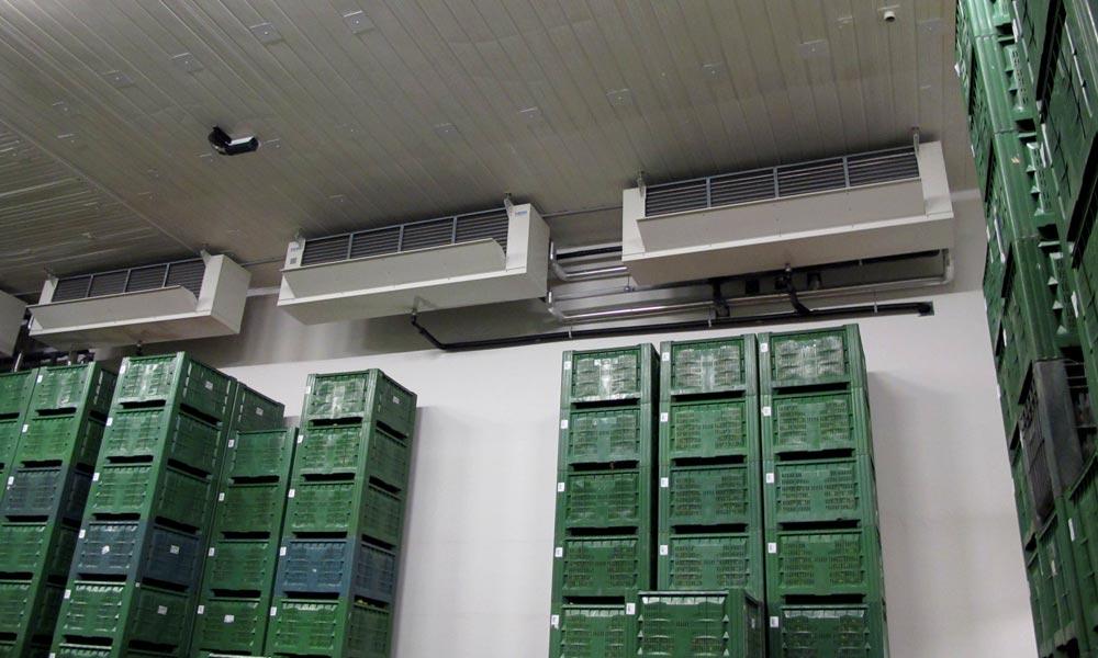 Impianto conservazione mele Alto Adige potenza 2,2 MW
